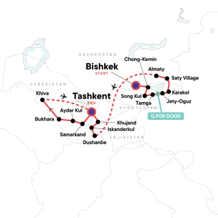 Map of Multi-Stan Adventure